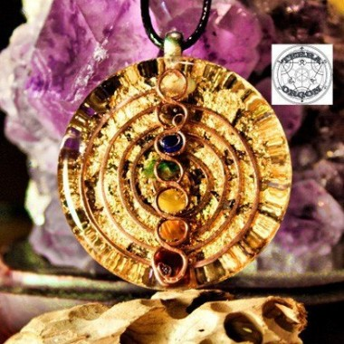 7 Chacras kundalini espiral.