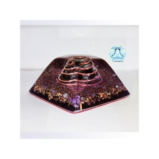 Piramide truncada shunguit